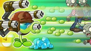 Plants Vs Zombies 2 - ALL NEW WORLD ICE AND FIRE ZOMBOSS BATTLE!