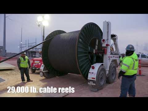 Milestone Tracker | Ethane Cracker and Derivatives Project | High voltage feeder cable installation