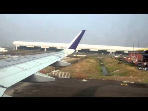 Batik Air A320 Sokarno-Hatta - Djuanda: Hamparan Gunung-Gunung di Jawa Tengah