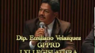 DIP. EMILIANO VELAZQUEZ