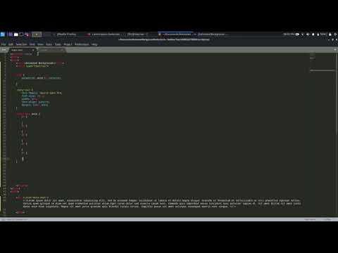 Эффект анимации бекграунда (фона) | HTML & CSS