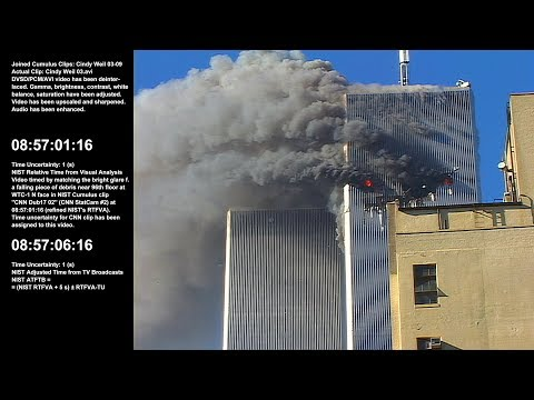 WTC 1 / 8:53:10am - 9:21:52am / N / Raw Video by Cynthia Weil - Sel. Take 3 of 5