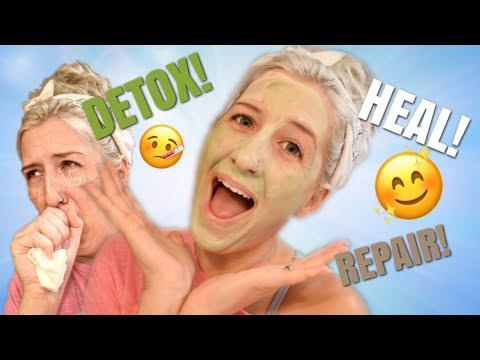 How To Detox Skin After Being Sick CHLORO PLASMA, ORGANIC COCONUT OIL, AND MORE