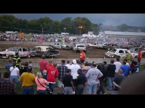 Demolition Derby Hamilton County Fair Cincinnati OH 08/10/2013 Part III