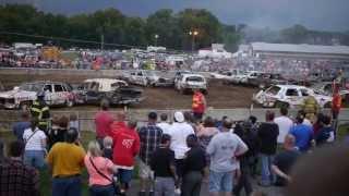 Demolition Derby Hamilton County Fair Cincinnati OH 08/10/2013 Part III