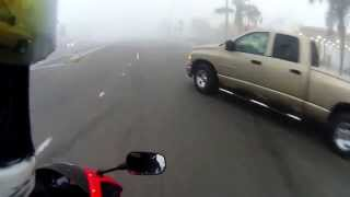 Car Pulls Out In Front Of Motorcycle & Gets Hit- Aftermath