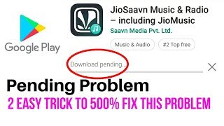 cara mengatasi download pending di play store
