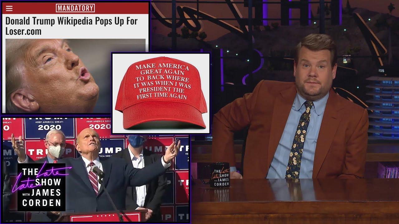 Download Trump Shouldn't Visit Loser.com - Corden Catch-Up