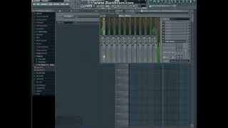 Как добавить басы в музыку через Fl studio 10.