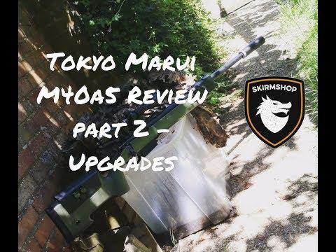 Tokyo Marui M40a5 Review Part 2 Upgrades