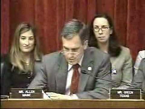 Rep. Allen to Leavitt on patents/avian flu, part 1