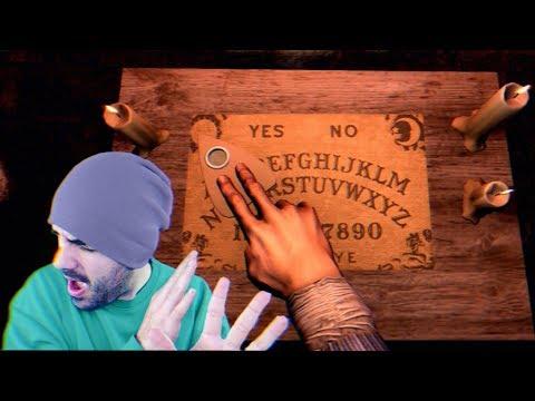 ¡USO LA OUIJA PARA HABLAR CON UN FANTASMA! - Apparition (Horror Game)