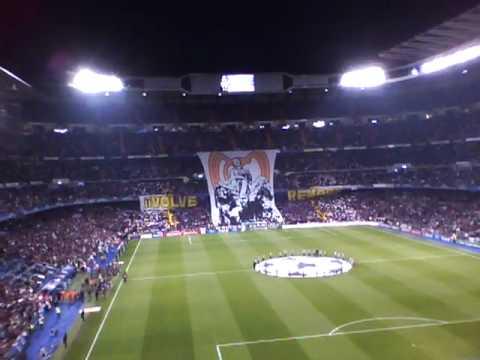 Noche De Champions En El Santiago Bernabeu Real Madrid Youtube