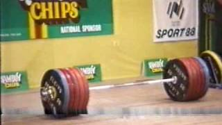 Leonid Taranenko world record 266kg clean and jerk.WMV