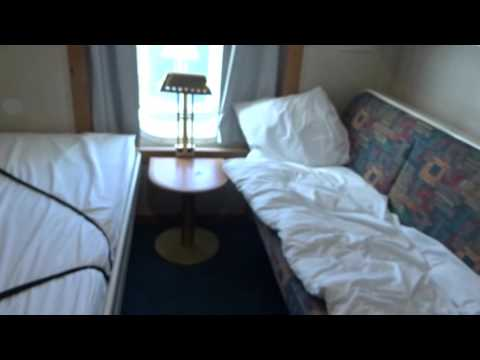 A video of an unrenovated A-class cabin onboard the cruiseferry m/s Silja Europa. 18 MAR 2016