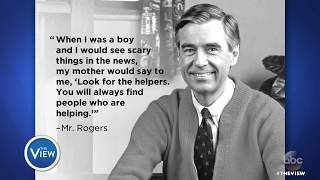 Reporter's Tweets About Meeting Mister Rogers   The View