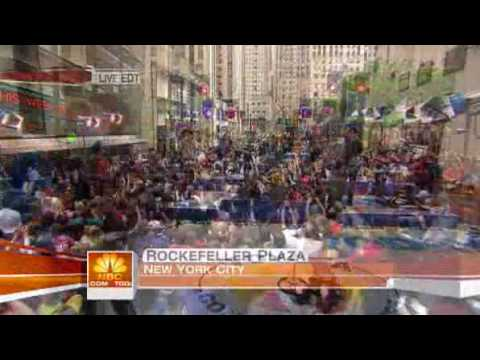 Today Show Jonas Brothers perform Paranoid