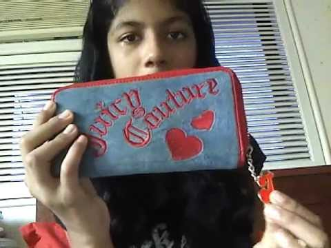 How To Spot A Fake Juicy Couture Wallet! - YouTube 6187274060
