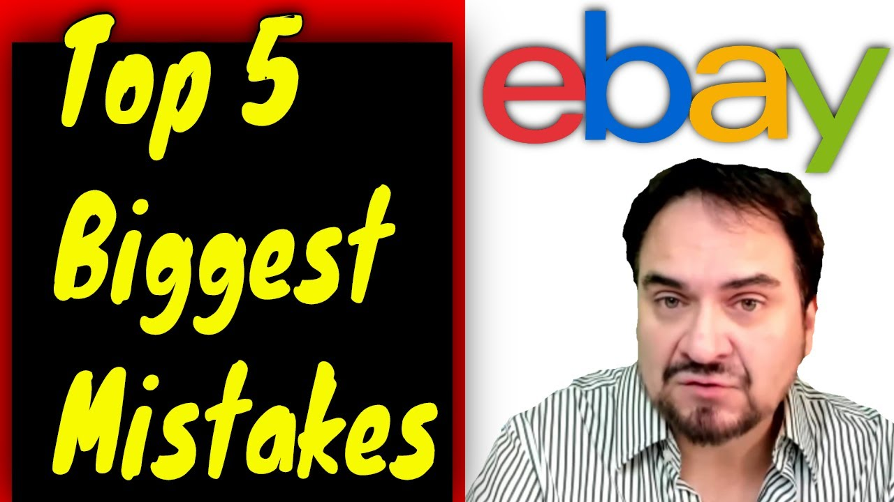 Top 5 Biggest Mistakes We Made Reselling And How To Avoid Them