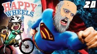 NONNO CHUCK E' SUPERMAN!! - Happy Wheels [Ep.20]