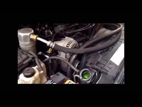 1997 Chevy Blazer Coolant Flush 4 3L on