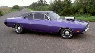 THE PLUM CRAZY DODGE CHARGER 1969 reloaded, Start up´s, Rev´s, V8 Soundbattle, Ride´s