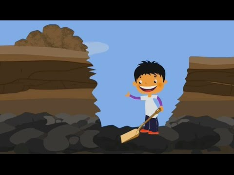 How is Coal Formed? - Geography for Kids | Mocomi - YouTube