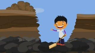 Cómo es el Carbón que se forma? - Geografía para Niños | Videos Educativos por Mocomi
