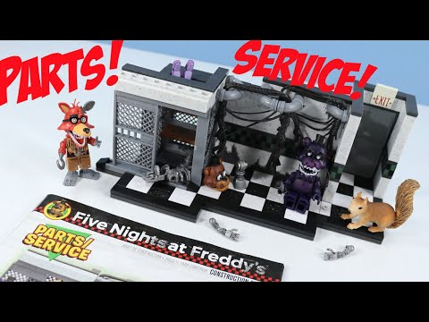 Thumbnail: Five Nights at Freddy's Fnaf Parts/Service McFarlane Toys Review with Hallucination