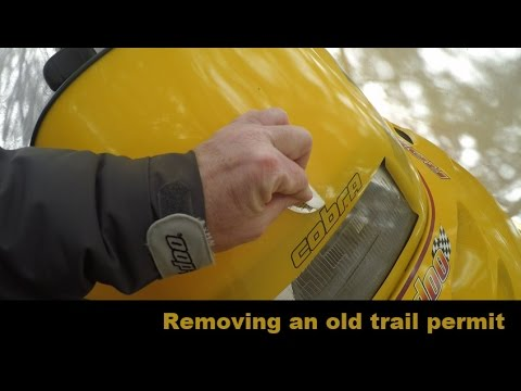 Removing Snowmobile Trail Permits - S2E#2