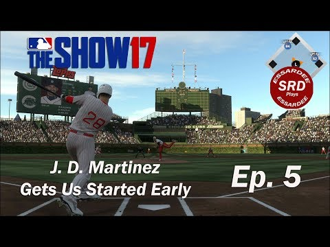 Diamond Dynasty / MLB the Show 17 / Ep. 5 J. D. Martinez Gets Us Started Early