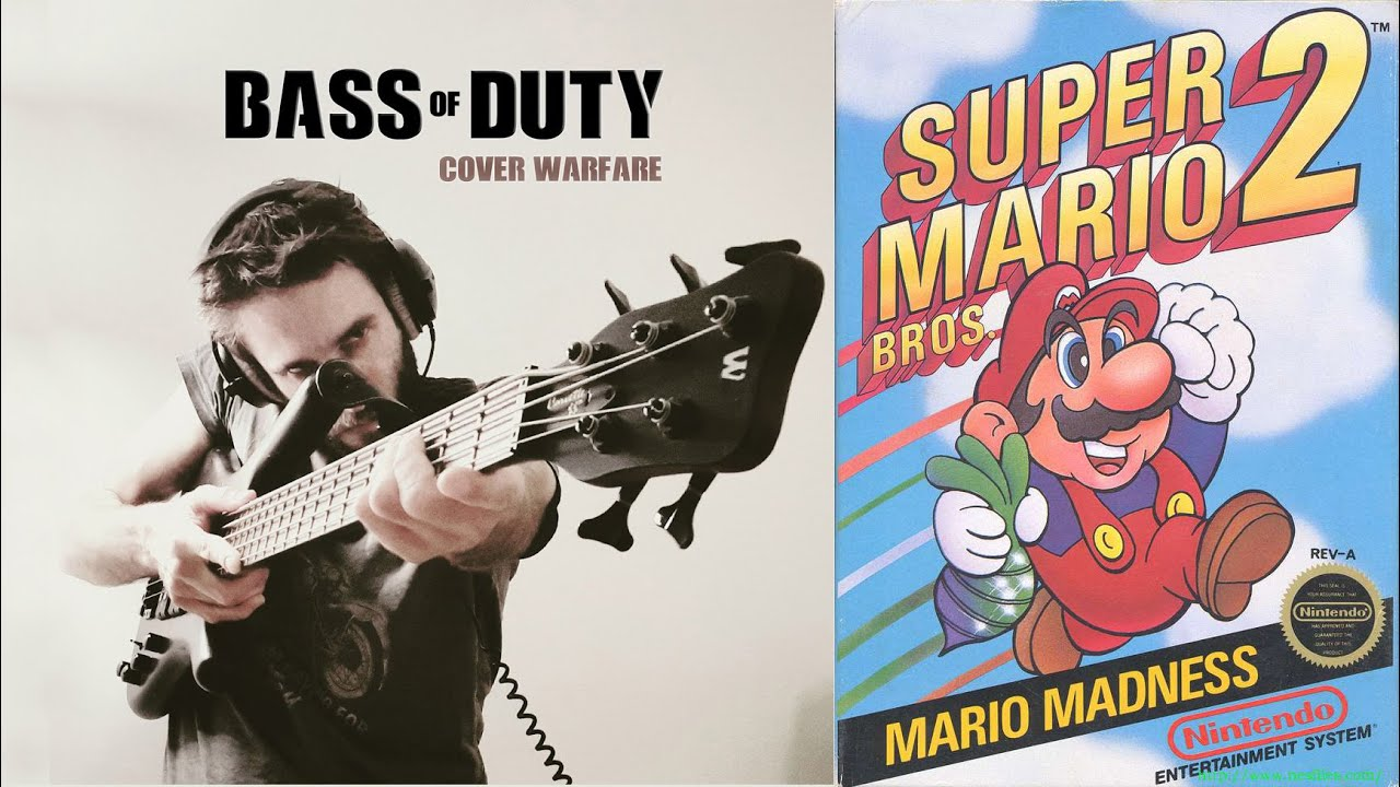 Super Mario Bros 2 - Overworld (Bass Trio)