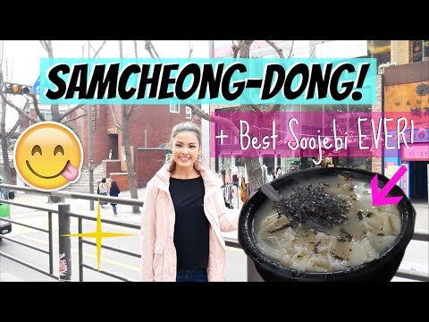 Walking Around Samcheong-Dong and The BEST Soojebi Place! The Travel Breakdown