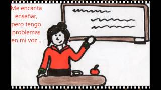 Campaña contra la disfonía en profesores