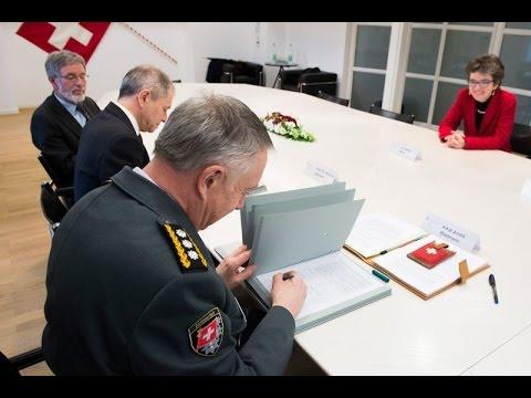 Conférence de presse: Menaces et réponses – l'Armée suisse aujourd'hui