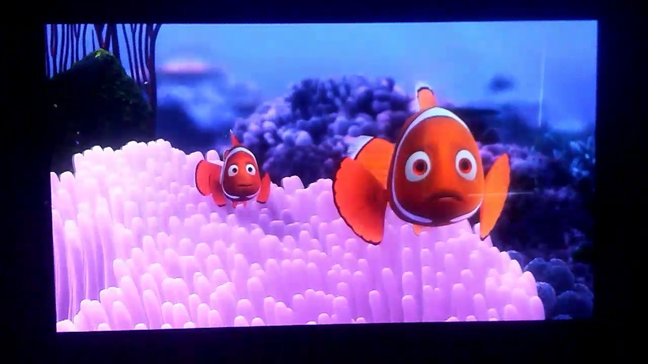 Finding Nemo 3D (2012) Barracuda Attack With Subtitles ...