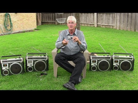 Littleboomboxes Boomboxes Wireless Bluetooth Review El Diablo Boombox Victor RC-550