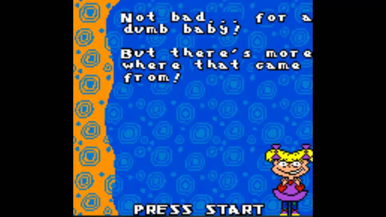 Lets Play Rugrats In Paris Gbc 1 Rocket Plane Youtube
