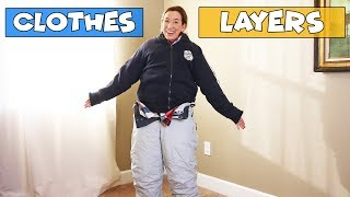 How Many Layers Of Clothes?