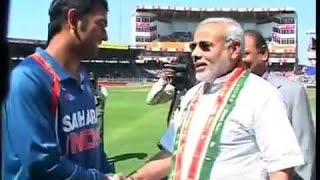 MODIji meets DHONI, Kohli & Team members | Memorable Moments | Must Watch