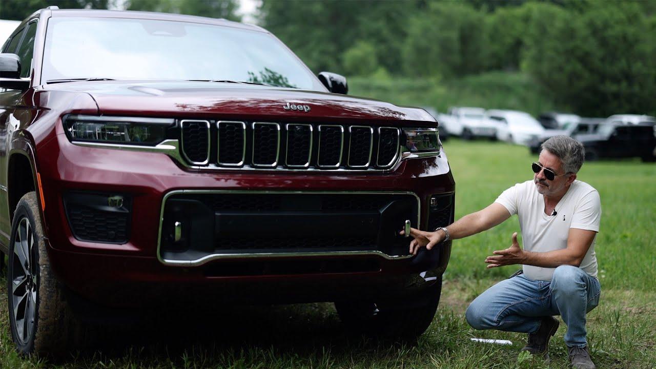¿Mejor que todas en su clase? 2022 Jeep Grand Cherokee L