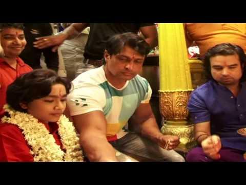 Colors Tv Serial's Shani's Shani and Suryadev Visit and Pray at Real Shani Temple at Indore