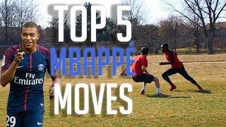TOP 5 MBAPPE FOOTBALL SKILLS