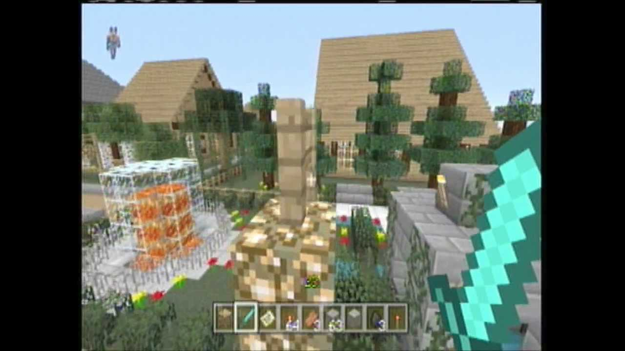 minecraft girly girl town - YouTube