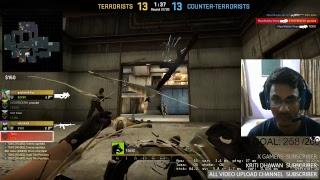 CSGO live stream noob game play