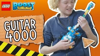 LEGO BOOST: Create your own band with Guitar4000!