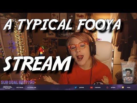 A Typical Fooya Stream