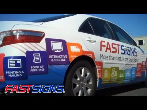Vehicle Graphics And Car Wraps From FASTSIGNS®