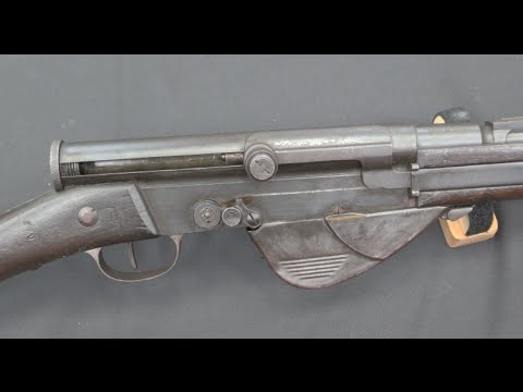 RSC 1917: France's WW1 Semiauto Rifle