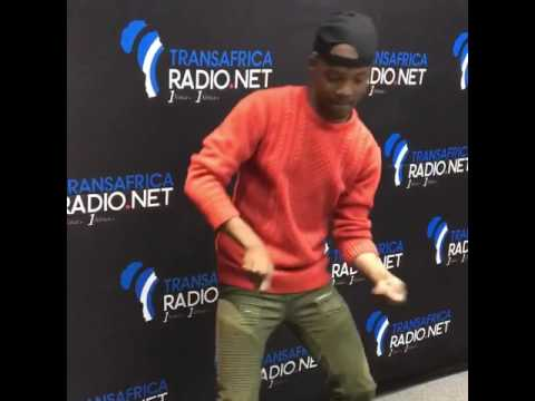 Transafrica radio JD Bax takes on the #tigidancechallenge to #Tigi by Swaziland's #Sands